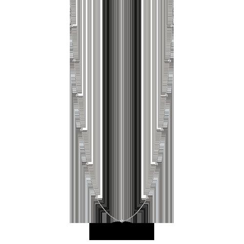 Diamond 30 inch necklace single