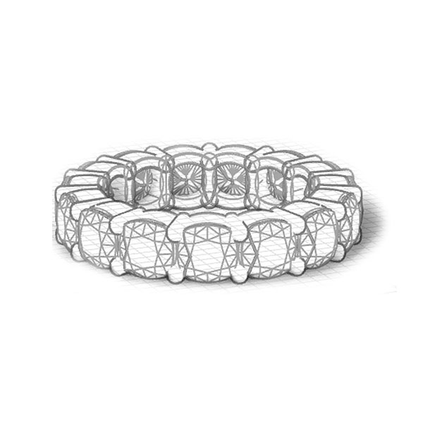 Eternity Rings Drawing